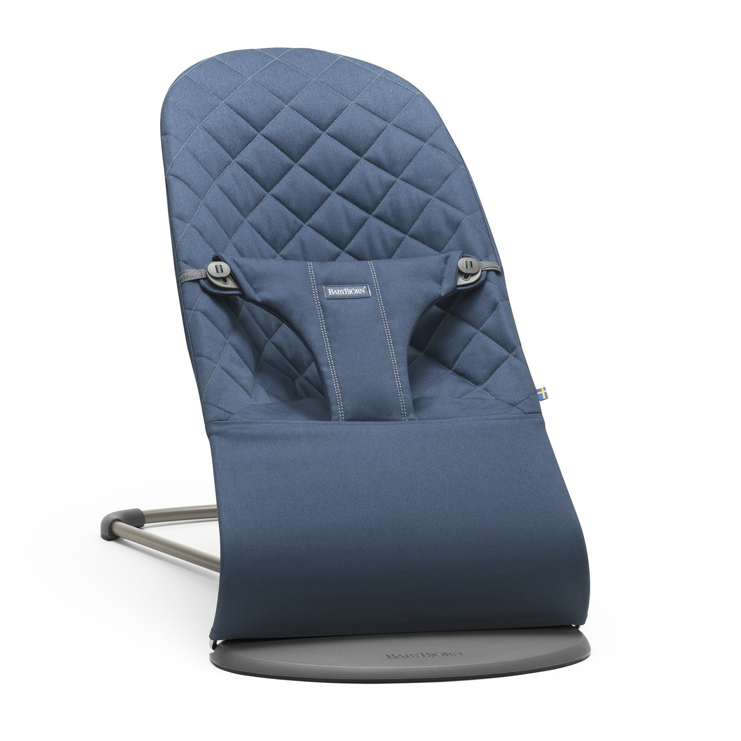 Кресло-шезлонг BabyBjorn Balance  bliss cotton blue
