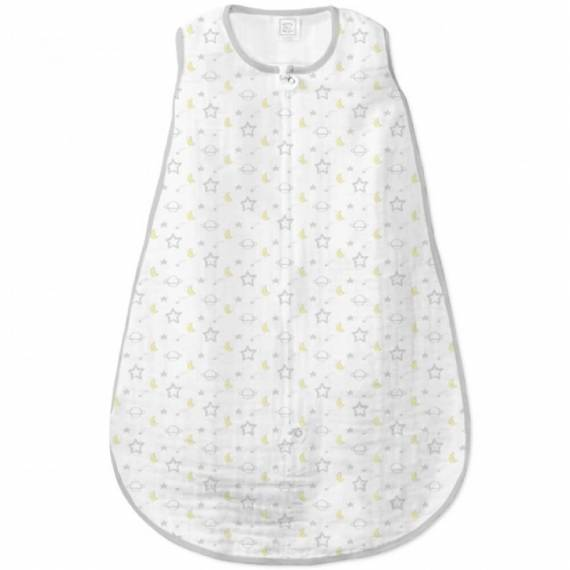 Спальный мешок SwaddleDesigns  Muslin zzZipMe Sack Sterling Goodnight